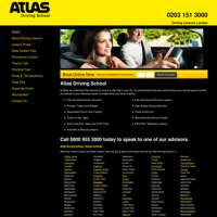 Atlas Driving School logo