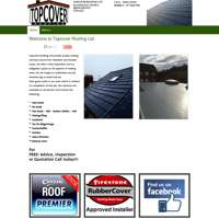 Topcover roofing limited logo