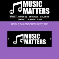 Music matters mobile disco  logo