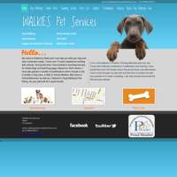 Walkies Pet Services logo