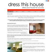 Dress This House logo