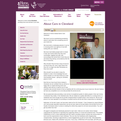 Home Instead Senior Care Cleveland