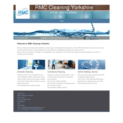 RMC Cleaning Yorkshire