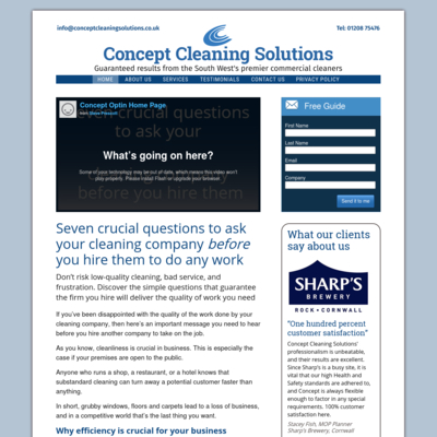 Concept Cleaning Solutions