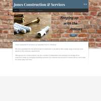 Jones construction and services  logo