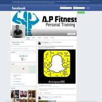 A.P Fitness logo