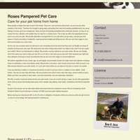 roses pet care logo