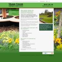Shaun Foxon Landscape gardener logo