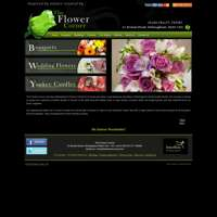 THE FLOWER CORNER logo