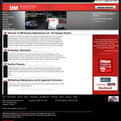 dm roofing & maintenance lt