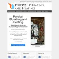 Percival Plumbing and Heating logo