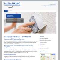 DC Plastering Services logo