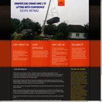 Draper uk crane hire ltd logo