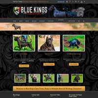 Blue Kings Cane Corso logo