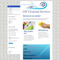 Gw cleaning services  logo