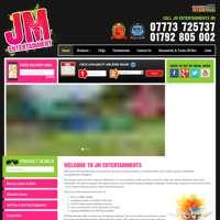 JM Ents  logo