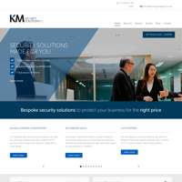 KM SECURITY SOLUTIONS logo