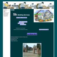 sb building services  logo