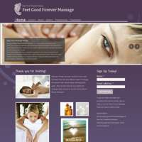 Feel good forever massage logo