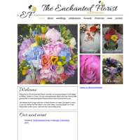 The enchanted florist  logo