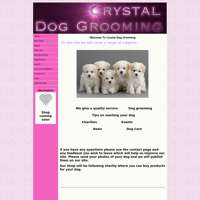 Crystal Dog Grooming logo