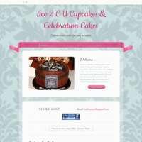 Ice 2 C U Cupcakes & Celebration Cakes  logo