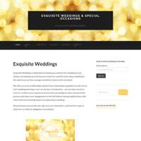 Exquisite Weddings & Special Occasions Ltd logo