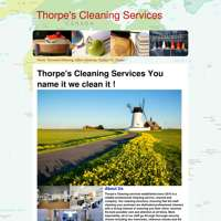Thorpes Cleaning  logo