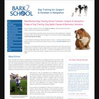 Bark2School logo