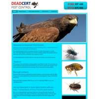 DeadCert Pest Control logo