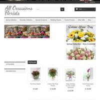 ALL Occasions florists  logo