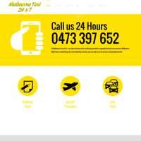 Melbourne Taxi 24x7  logo