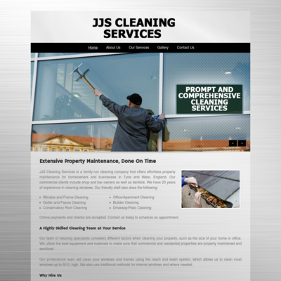 JJS cleaning services