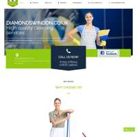 Diamond Cleaning Services Swindon logo