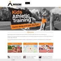 Booom - Explosive Sports Training logo