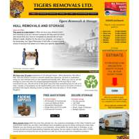 Tigers Removals and Storage logo