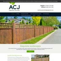 ACJ landscape solutions  logo