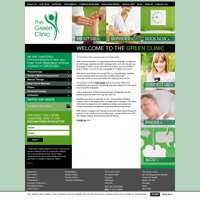 The Green Clinic logo