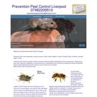 Prevention pest control  logo