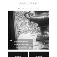 James Wray Wedding Films logo
