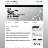 The Diamante Rooms logo