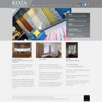 Koza Curtains & Blinds logo