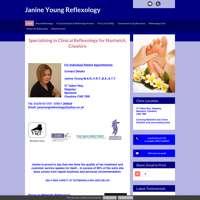 Janine Young Reflexology logo