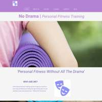 No Drama | Personal Fitness Training logo