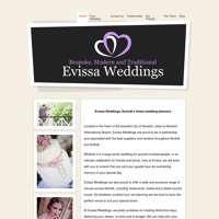 Evissa weddings  logo