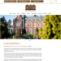 Lynford Hall Hotel  logo