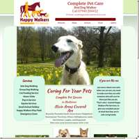 Happy Walkers Pet Services logo