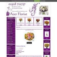 acer florist logo
