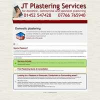 Jtplastering  logo
