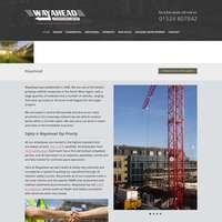 Wayahead scaffolding/buildserve logo
